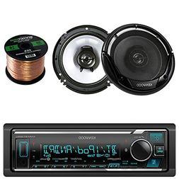 Kenwood KMM-BT325U Single DIN Bluetooth Stereo, Cd Receiver,