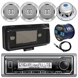 Kenwood KMR-M322BT In-Dash Marine Boat Audio Bluetooth USB R