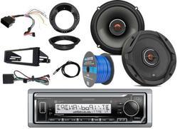 Kenwood Marine Digital Media Bluetooth Receiver w/ Dash Kit,