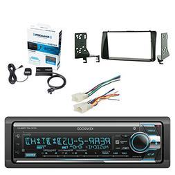 Kenwood Single Din CD/AM/FM Car Audio Receiver with Built-In