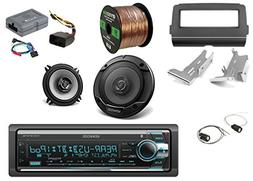 Kenwood SiriusXM-Ready CD Digital Media Bluetooth Stereo, 2x