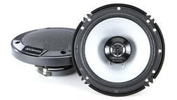 "Kenwood KFC-1666S 6.5""  2-Way Coaxial Car Audio Speaker 300"