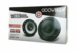 "KENWOOD KFC-1666S 600W 6.5"" KFC 2-Way Coaxial Car Speakers P"