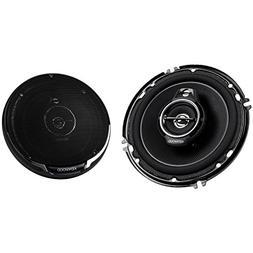 """Kenwood KFC-1695PS 6.5"""" 3 Way Round Car Speakers Pair KFC169"""