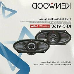 Kenwood KFC-415C 4x10-Inch 160W Two-way Custom-fit Car Audio