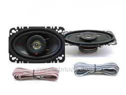 "Kenwood KFC-4675C 120 Watts 4"" x 6"" Coaxial 2-Way Car Audio"