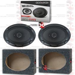 "KENWOOD KFC-6966S 6""x 9"" 3-WAY CAR AUDIO COAXIAL SPEAKERS PL"