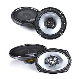 Kenwood KFC-6965S 6 x 9 inches 3-Way 400W Speakers + Kenwood