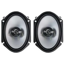 Kenwood KFC?C6866S 6X8 2?Way 250 Watt Car Stereo Speakers -