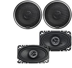 Kenwood KFC-X463C Excelon 4x6 2-Way Speaker System  Kenwood