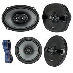 "Kicker 44KSC69304 6x9"" KS-Series Car Speakers with Poly-Swit"