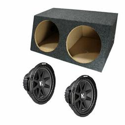 Kicker Dual Comp C12 12 Inch Sealed High Performance Sub Woo