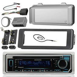 Kenwood KMRD365BT Marine Radio Stereo Receiver Bundle, 1998