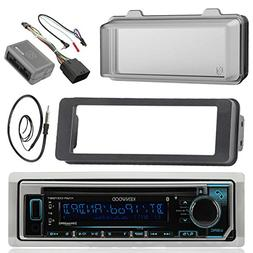 Kenwood KMRD372BT MP3/USB/AUX Stereo Receiver CD Player W/We