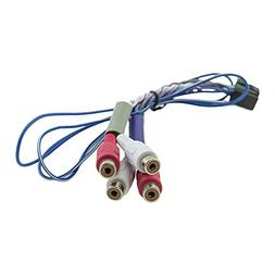 ALPINE KTP-445U OEM GENUINE FRONT/REAR/REMOTE ON RCA CABLE H
