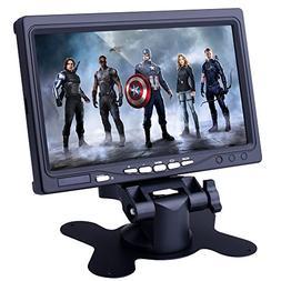 kuman 7 Inch HD Display 1024x600 TFT LCD Screen Monitor for
