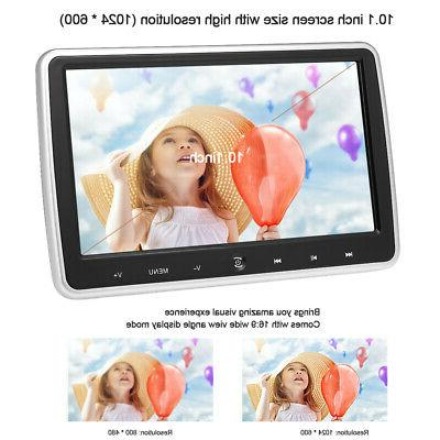 """10.1"""" Car Headrest DVD Player Auto Monitor Game Touch"""