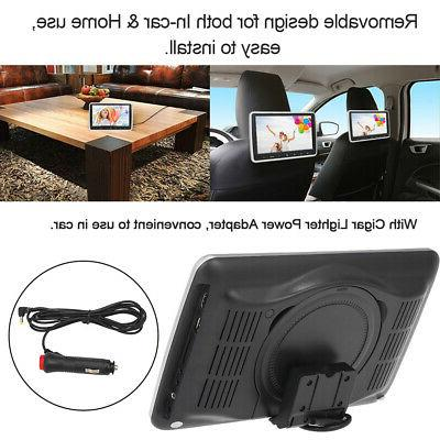 """10.1"""" Car Headrest Player Auto Monitor Video Game FM Speaker Touch"""