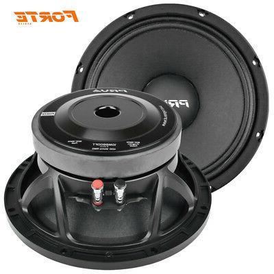"PRV 10"" Midbass Audio Speaker 800 8-Ohms NEW"