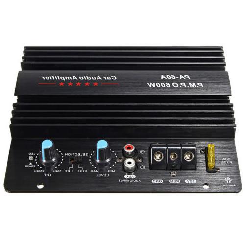 12V 600W Mono High Power Bass Amp