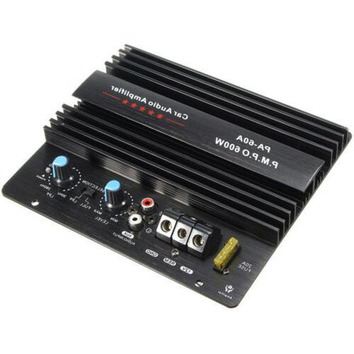 12v 600w car subwoofer mono car amplifier