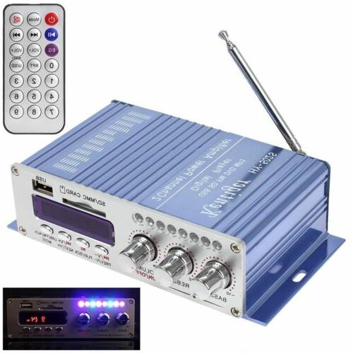12V Amplifier Digital FM Radio FM Audio Speaker