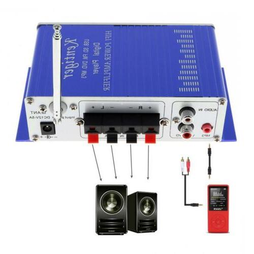 12V Bluetooth Amplifier Player FM Speaker