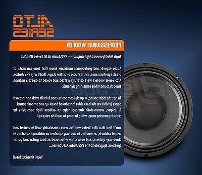 PRV Alto Series Professional Woofer 8 - 750 Watts 97