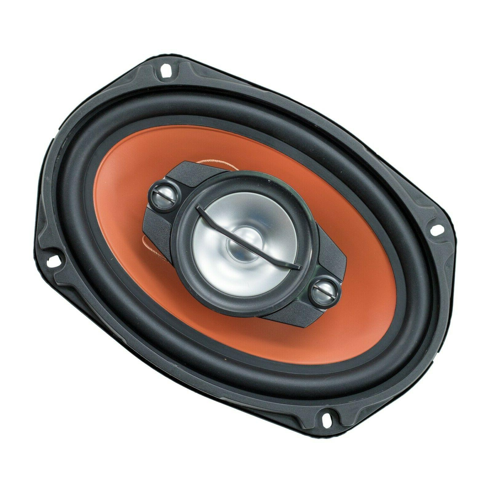 """2x 6"""" x 700 Coaxial Car Audio CEA Rated"""
