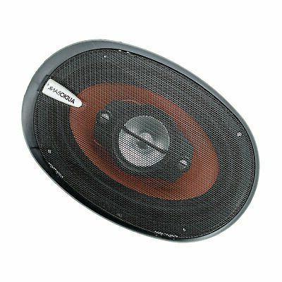 "2x NEW Audiotek K7 6"" 5-Way 700 Audio Speakers CEA Rated"