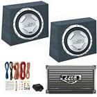 """2) BOSS AUDIO CX122 12"""" 1400W Car Subwoofers + Sealed Boxes"""