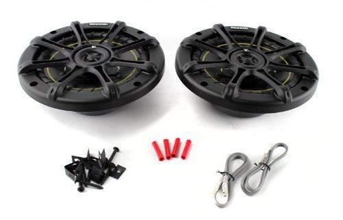 """2) Kicker DS60 6.5"""" 200 Kicker DS693 280W 3-Way Car Speakers"""