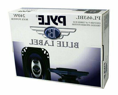 "2) New 4x6"" Car Audio Speakers Stereo PAIR"