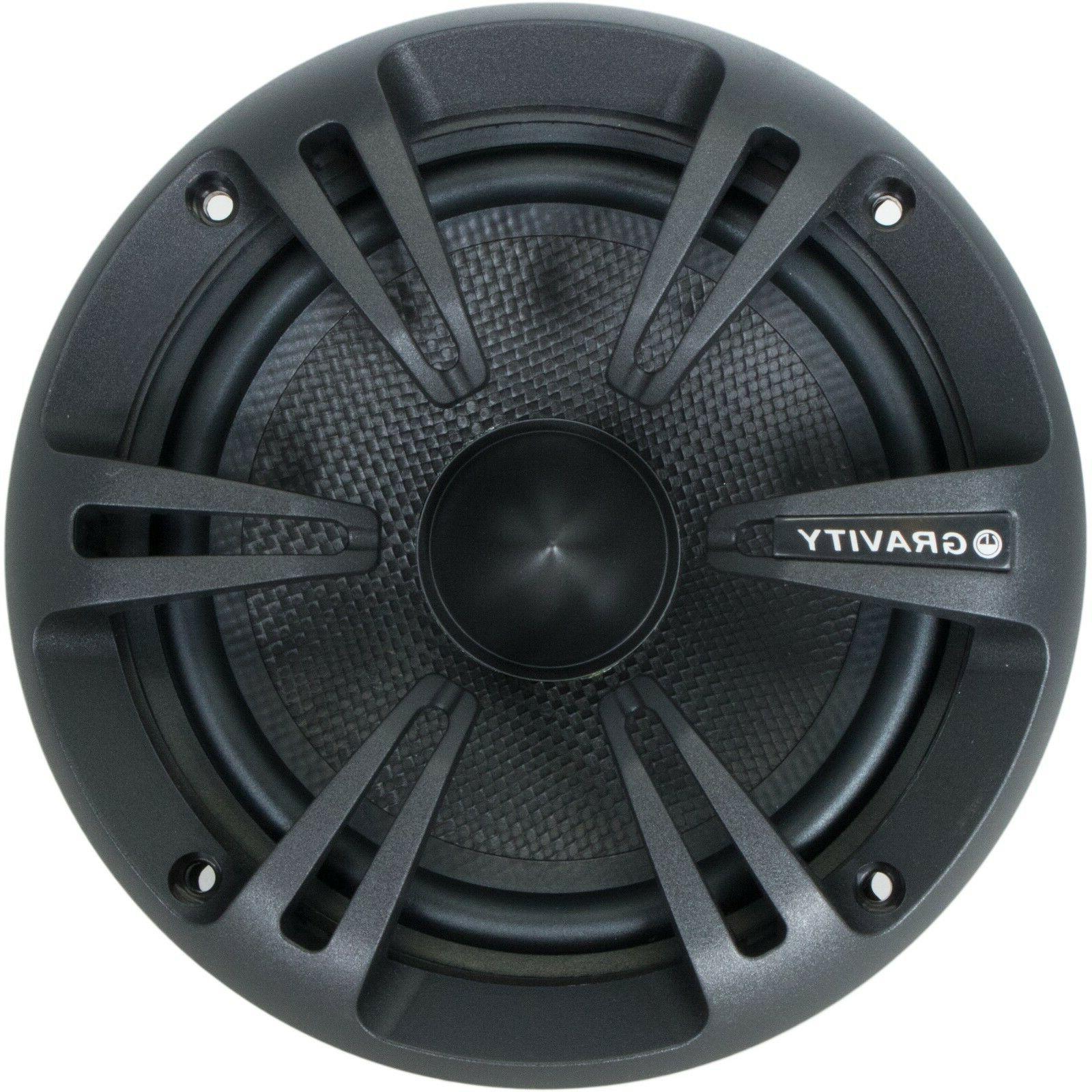 Pairs 6.5-Inch 2-Way Audio Speaker System