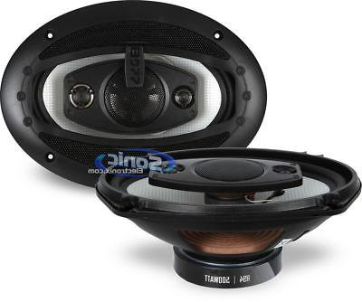 """R94 6x9"""" 500W RIOT Coaxial Speakers Grilles"""