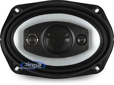 500W 4-Way Coaxial Speakers Grilles