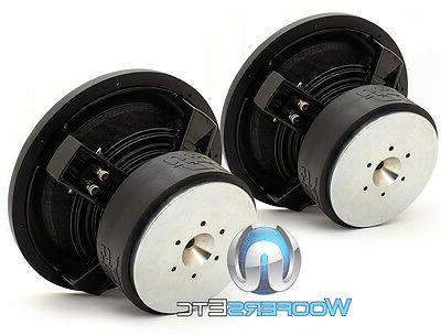 D4 REV.3 SUBS 750W DUAL 4-OHM SUBWOOFERS SPEAKERS