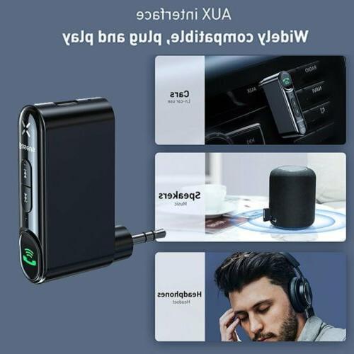Baseus Wireless Bluetooth 5.0 Car Kit Adapter