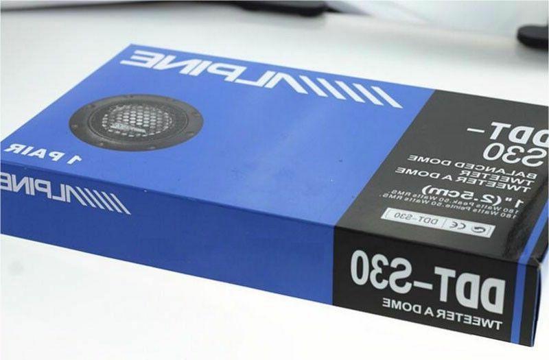 ALPINE DDT-S30 Car Speakers Balanced