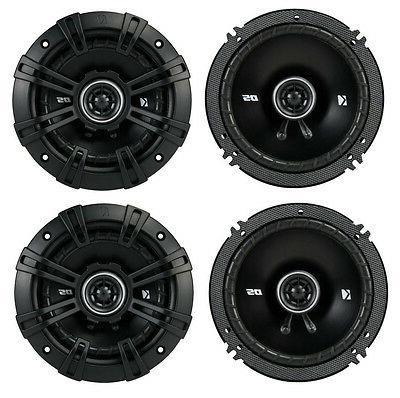 4 Kicker 43DSC6504 6.5 200 Watt 2 Way 4 Ohm Car Audio Coaxia