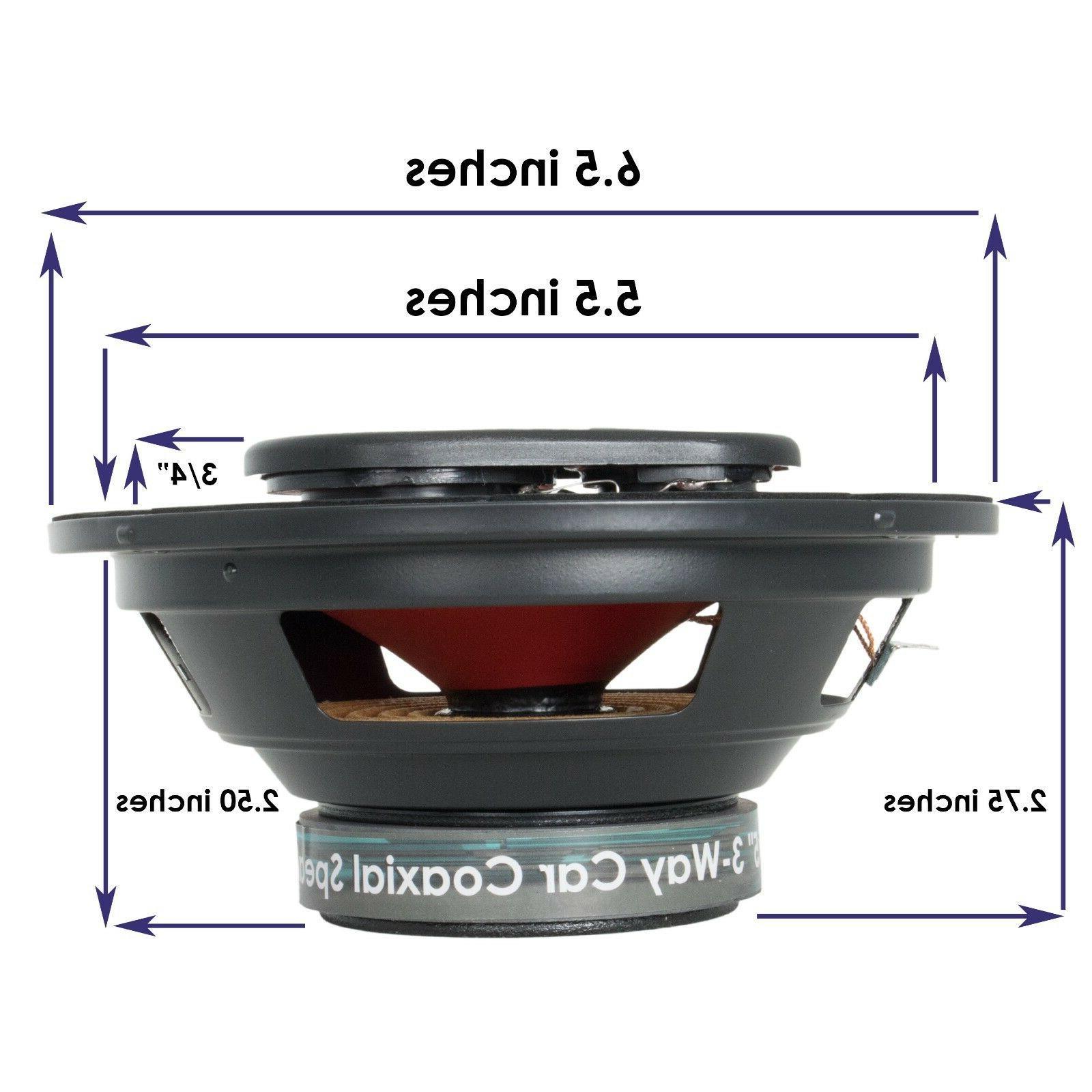 400 4-Way Car Audio Stereo -