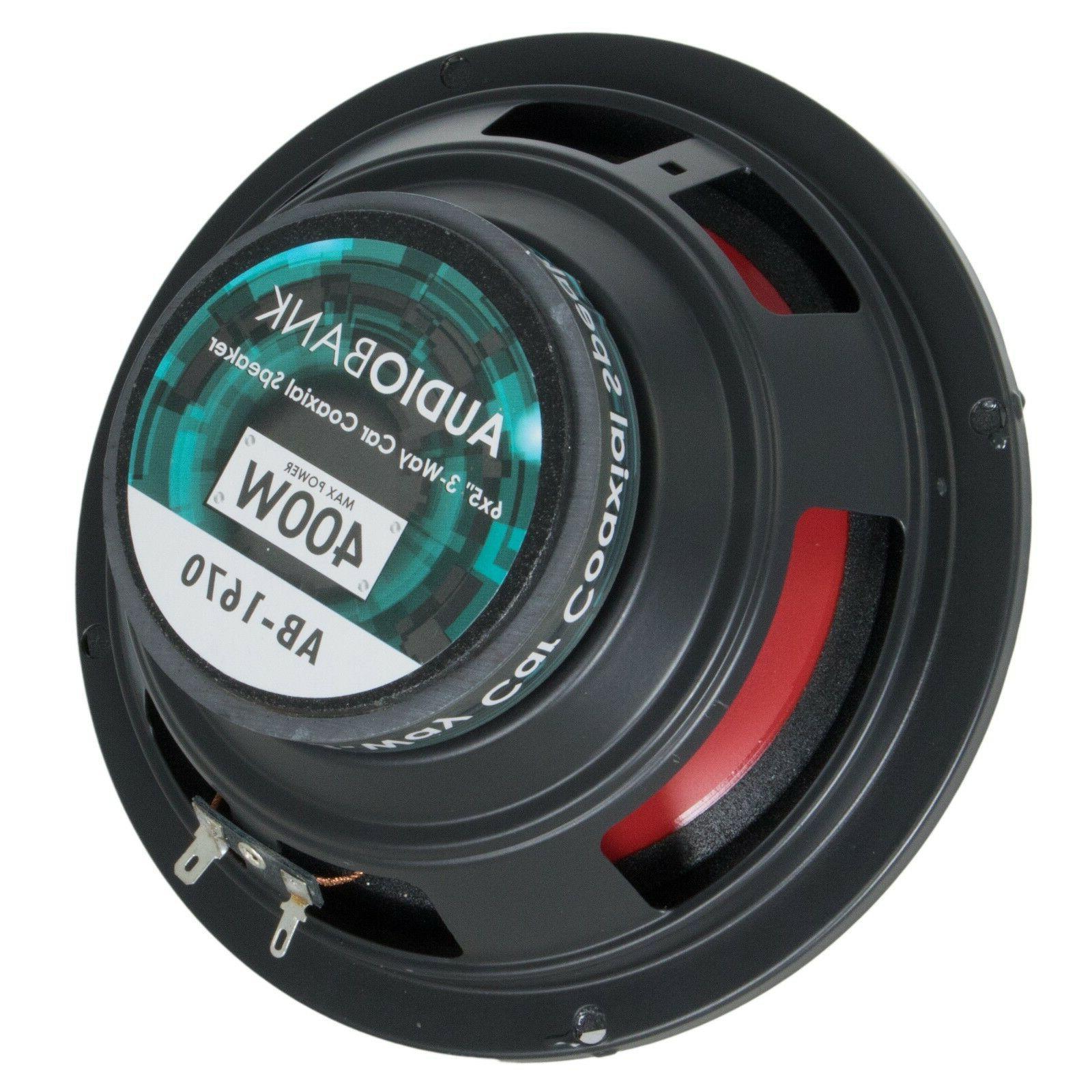 Audiotek 400 Watts Audio Stereo Speakers -