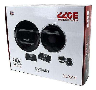 """4) BOSS PC65.2C 6.5"""" Way Set PC652C"""
