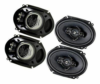 4 car stereo speakers four
