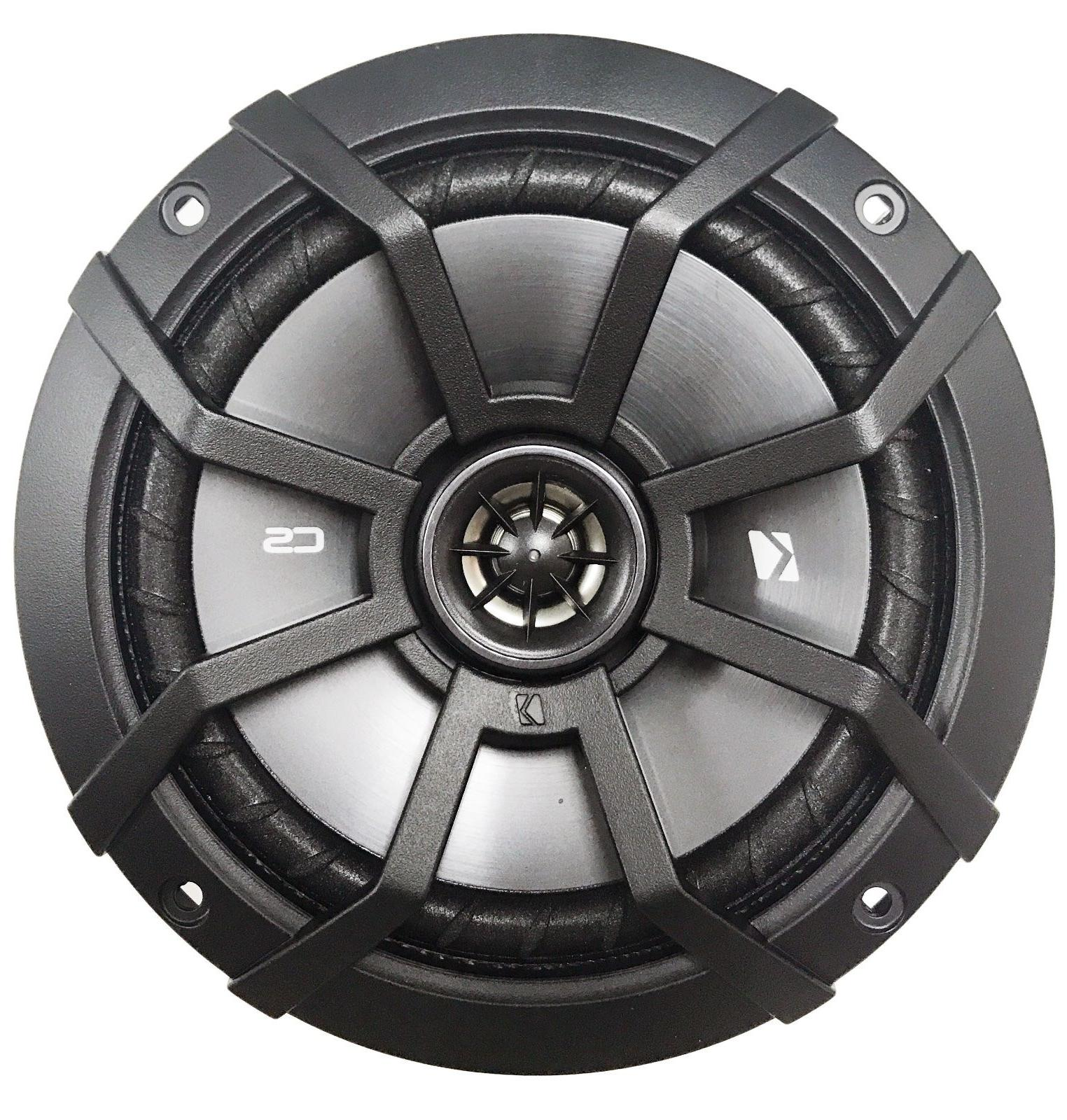 "-4- CS 6.5"" 2-Way Coaxial Speakers,"