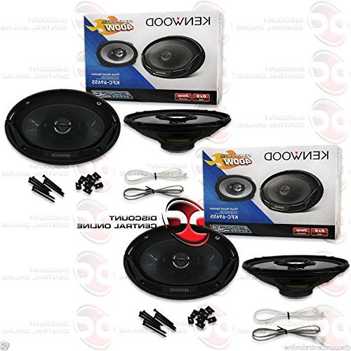 "4) New 6x9"" 800 Car Audio Stereo"
