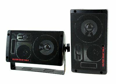 Pyramid 2060 300-Watt 3-Way Mini Box Speaker System