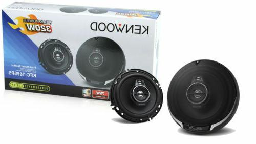 "4) Kenwood 6.5"" Watt Car Speakers Stereo"