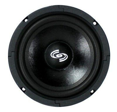 "4) Pyle 6.5"" Car Bass Mid Woofers Audio"