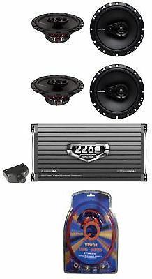 "4) Rockford Fosgate R165X3 6.5"" 3-Way Car Speakers+ Boss 4 C"